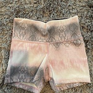 strut this cropped spandex/ shorts
